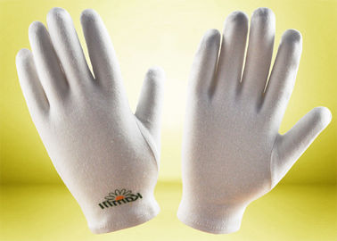 China Beauty Skin Cotton Cosmetic Gloves Comfortable Cotton Material Light Weight supplier