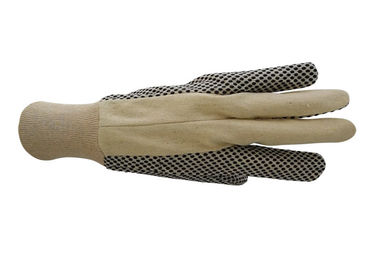 PVC Dot Grip Heavy Duty Work Gloves Attractive Appearance CE Certification