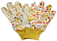 China Yellow Twill Working Hands Gloves Breathable Protecting Against Abrasion factory