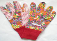 China Elastic Line Design Garden Work Gloves 9.5' 10.5' Size Comfortable Hand Feeling factory