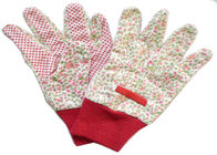China Reusable Industrial Work Gloves , Cotton Knitted Gloves Fabric Cotton Drill factory