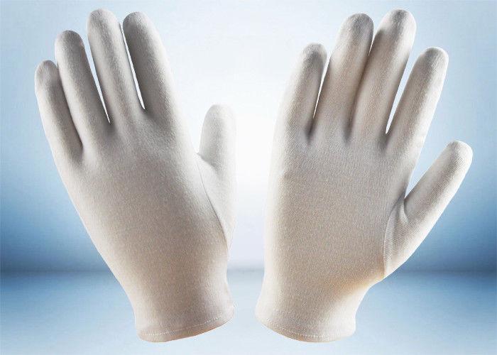 White Cotton Photograph Handling Gloves Size S//M