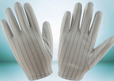 China Clean Room ESD Disposable Gloves , Static Proof Gloves High Durability factory