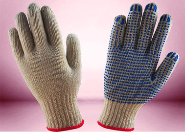 China Non Toxic Cotton Knitted Hand Gloves , Industrial Knitted Gloves Ergonomic Design factory