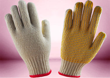 China Seamless Knitted Cotton Gardening Gloves , Hand Protection Gloves 8 - 10 Inch Size factory