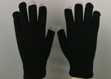 China Composite Knitted Working Hands Gloves Light Weight Electric Conduction On Thumb factory