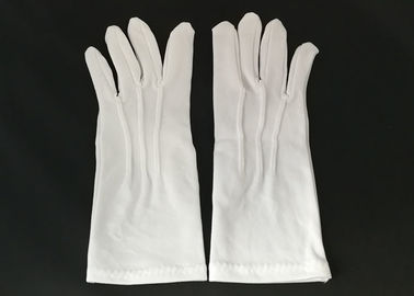 Breathable Lint Free Gloves , Industrial Safety Gloves Light Material Handling