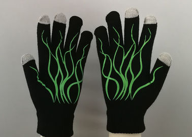 Skeleton Printng Working Hands Gloves Ecological Textile Fabric OEM Accepted